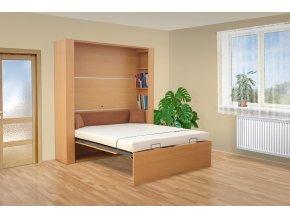 Výklopná postel VS1060P, 200x140cm + OBRAZ ZDARMA